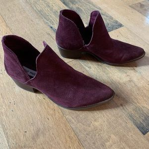 Steve Madden Shoes - Leather booties